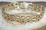 Goldarmband 333