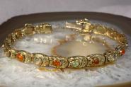 Opal Armband Gold 585 19,5  cm