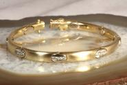 Gliederarmband Gold 750 Diamanten