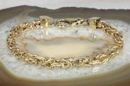 Königsarmband Gold 585 22 cm