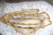 Singapurkette Gold 585 51 cm