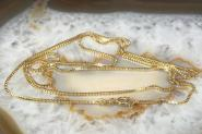 Veneziakette Gold 585 65 cm
