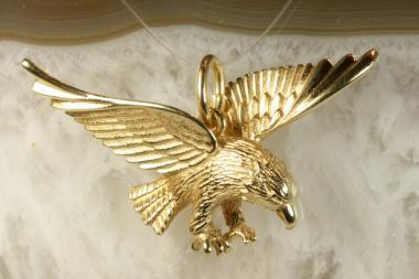 Adler Anhänger Gold 585