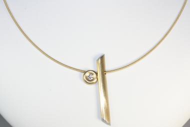 Design Collier Halsreif Gold 750