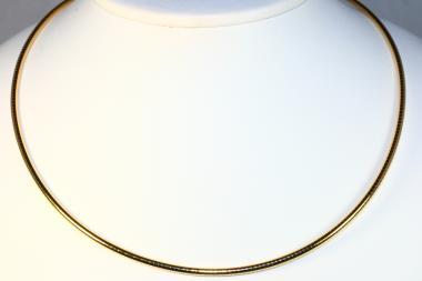 Omega Halsreif Gold 585 42 cm x 2 mm