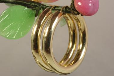 Creolen  Gold 585 Ø 34 mm