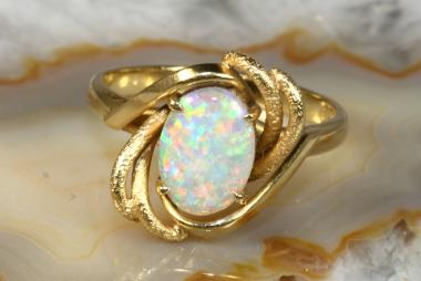 Opal Ring Gold 750