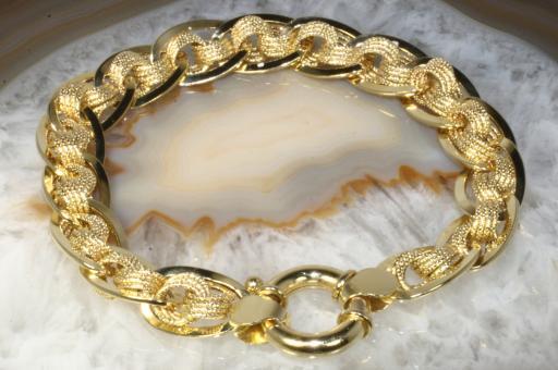 Armband Gelbgold 585 19,5 cm