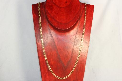 Figarokette Gold 585 57,5 cm