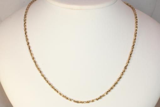 Kordelkette Gold 585 45 cm