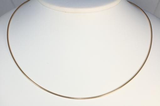 Omega Halsreif Gold 585 41,5 cm x 1 mm