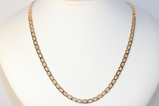 Stegpanzerkette Gold 585 51 cm