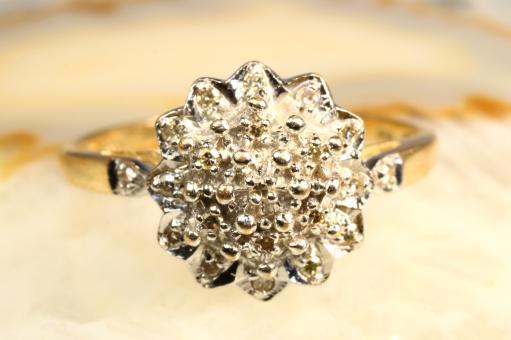 Ring Diamanten Gelbgold 585