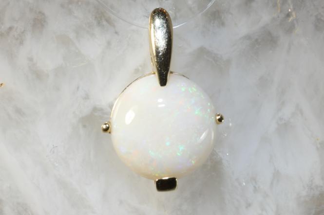 Opal  Anhänger Gold 585