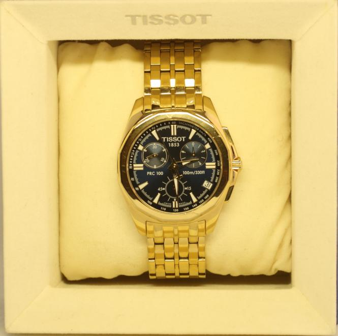 tissot prc 100 tachymeter second hand schmuck. Black Bedroom Furniture Sets. Home Design Ideas