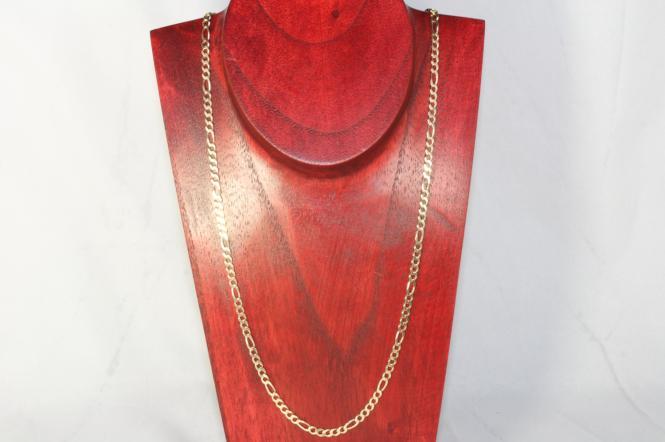 Figarokette Gold 585 48,5 cm