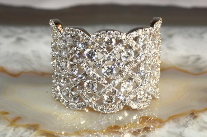 Design Ring Zirkonia Weißgold 585