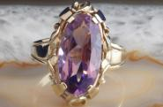 Amethyst Ring Gold 585