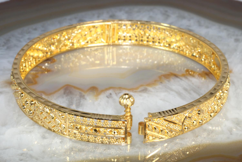 Armreif Gold 916 22 Karat