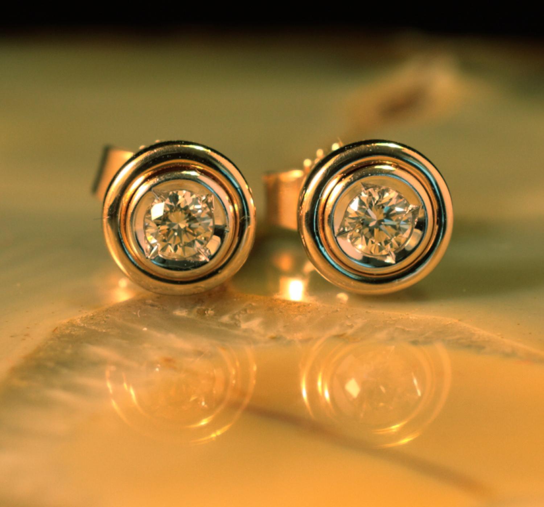 Ohrringe gold 585 gebraucht